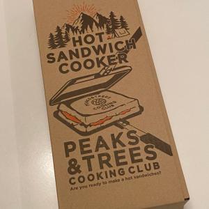 PEAKS & TREES ホットサンドイッチクッカー