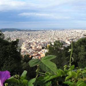 百歩譲って、バルセロナ市内の丘歩き