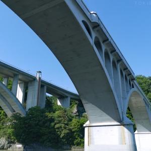 暑い時は橋の下