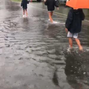 オーストラリアこんどは雨災害