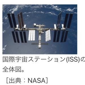 国際宇宙ステーション(I SS)上空通過予想。