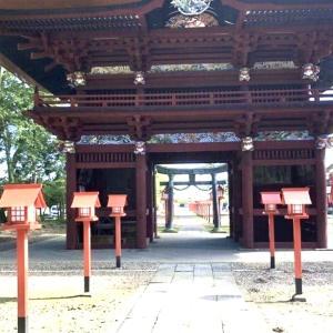 栃木県高椅神社の神社(1) 最古の延喜式内社