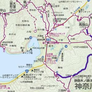 富士山の絶景、鉄砲木ノ頭(明神山)へぼっちトレッキング