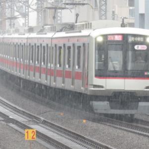 電車は行く1107号 東急東横線急行元町・中華街行