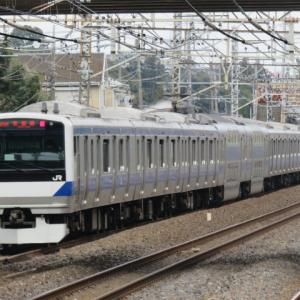 電車は行く1191号 常磐線普通水戸行