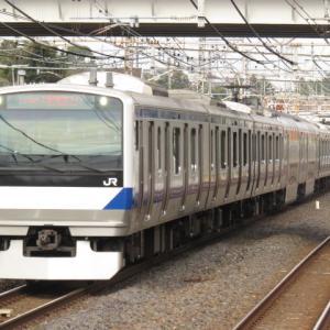 電車は行く1203号 常磐線普通品川行