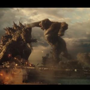 ハリウッド版『ゴジラvsキングコング』のワンシーンがチラ見せ!
