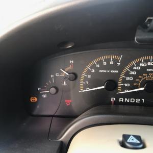 フォード エクスペディション ABSランプ点灯!