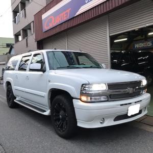 シボレー サバーバン 4WD 御納車 in  函館市!