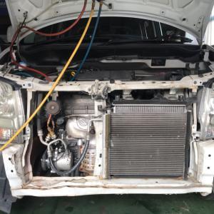 代車 ワゴンR エアコン修理!