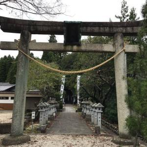 武並神社(岐阜県恵那市大井町)