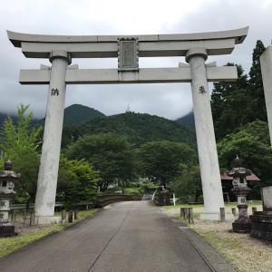 高賀神社(岐阜県関市洞戸)