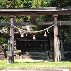 顔戸八幡神社(岐阜県可児郡御嵩町)