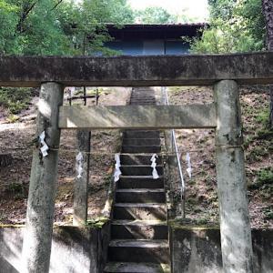 神明神社(岐阜県可児市久々利)