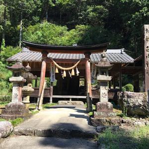 白山神社(岐阜県関市下之保)