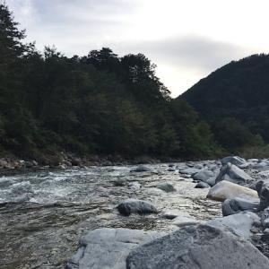 付知峡キャンプ場さんけい広場(岐阜県中津川市付知町)