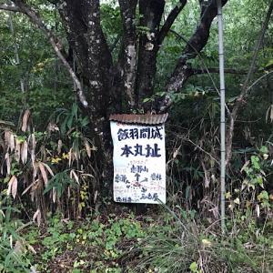 飯羽間城跡(岐阜県恵那市岩村町)