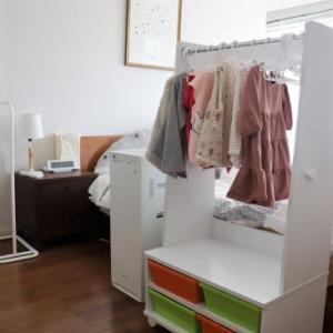 子供の洋服収納