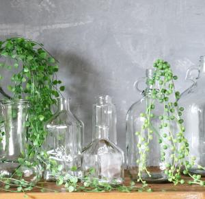 ガラス瓶のある生活♪