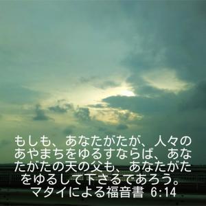 マタイによる福音書6章14節