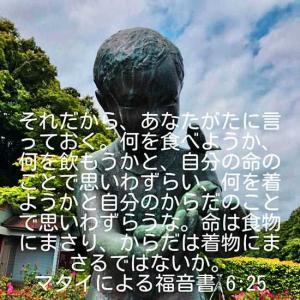 マタイによる福音書6章25節(市川市動植物園)