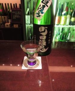 *町田酒造 純米吟醸無濾過生原酒 直汲み