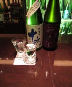 *頒布会酒 特別純米無濾過生原酒・育酛純米吟醸 中取り
