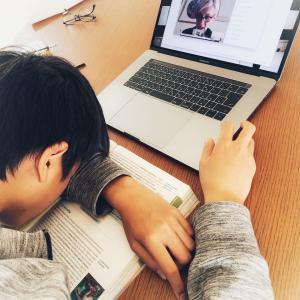 オンライン授業の現実風景