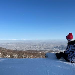 絶景が見れるスキー場@手稲ハイランドスキー場
