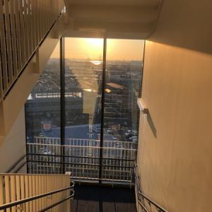階段室からの眺望
