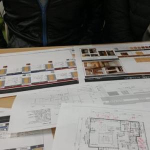 (仮称)暮らしのシーンに和モダンのエスプリが集う格子の家新築設計デザイン・LDKと使い勝手、フレキシブルな空間で時間と質、空間要素のデザインは素材単独では無く集合体でイメージする事が大切。