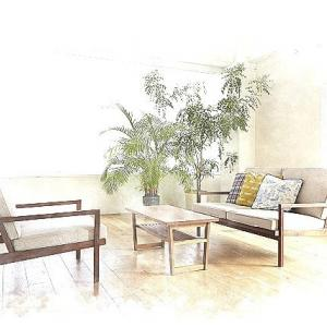 暮らしの空間と住まいの設計デザイン・・・居心地と調和の意味、家具レイアウトと選定で居心地は変化しますよ、住まいの空間構成に家具レイアウトとサイズでの余白の違い。