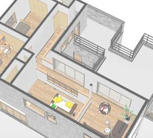 暮らしと過ごしやすさに連動する間取りと空間、部屋構成の活用・・・・設計デザインの工夫で過ごし方の質も向上する計画性の違いから派生する環境の質的改善。