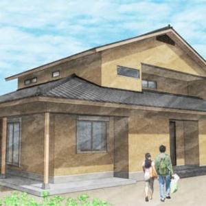 (仮称)古都の風情と「personal&common」を満喫する数寄屋の家・設計・デザイン計画中の奈良県明日香村の家は色のトーンで室内空間の居心地とイメージを馴染む空間に。