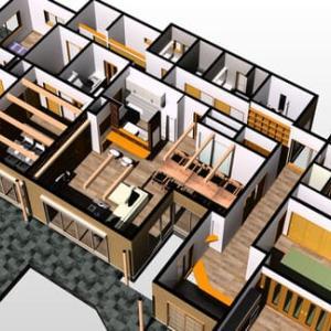 住まいと間取りと暮らしの環境操作、条件の整理整頓から暮らしの価値観をイメージするように、設計デザインの考え方が充実している事で生まれる過ごし方時間のデザイン設計での工夫。