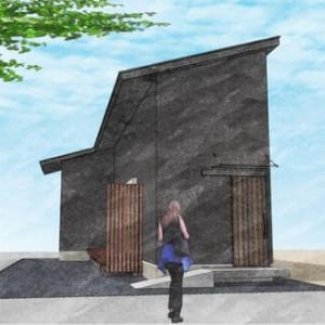 (仮称)ミニマムな「BASE LIFE]を楽しむ家新築計画・着工に向けて最終段階のアトリエでの打ち合わせ中のところ、多拠点生活の豊かさを設計デザインの工夫で暮らし方提案のカタチ