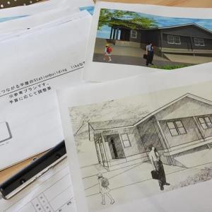 (仮称)緩やかにつながる平屋のStation building likeな家新築計画・過ごし方と暮らしの提案設計デザインに窓とウインドートリートメント領域配分を意識しながらフレンチモダンな暮らし。