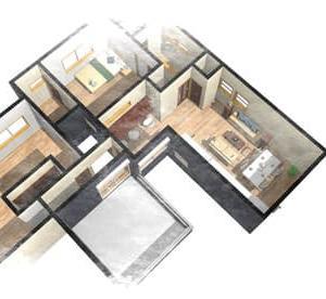 住まいの設計と収納計画、扉の向きや出し入れの仕方、移動の距離や窓の有無・・・使い勝手と家電の関係、間取りの設計デザインで家電の利用や片付けのしやすさが異なりますよ。