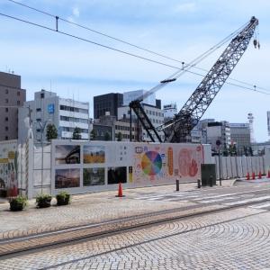 駅前の今の風景とランチ×3