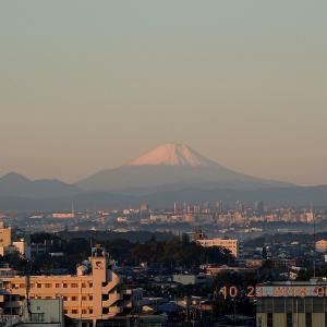 最も美しい富士山初冠雪