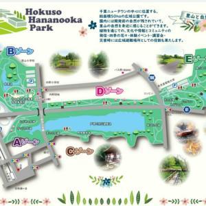 Googleマップを見ながら散策(千葉県立北総花の丘公園)