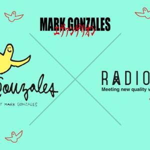 Mark Gonzales(マークゴンザレス)とRADIO EVAコラボ商品が登場