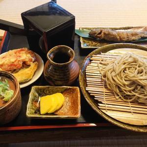 【麺類博物誌】山形県最上町・「そば処 時空」のそばと岩魚のから揚げセットをいただく!!