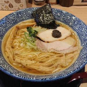 【新店情報】記者、「麺や富嶽」(仙台市泉中央)の淡麗煮干しラーメンをすする!!