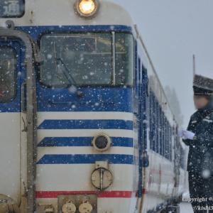 正体を掴めず列車は只見へ