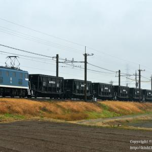 デキ506牽引の石炭列車