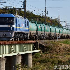 EF210-326 高崎線初のお目見え