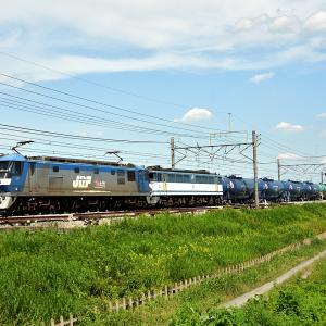EF65 2094高崎疎開と刺客電vs8876レ