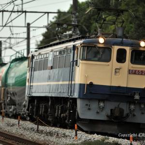 緑タキを牽くEF65 2089