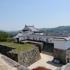 岡山県津山市を歩く3~天守跡から今から歩く津山市を予習しよう~